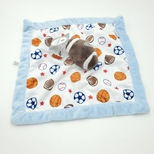 New Carter's Lovey Baby Security Blanket Football
